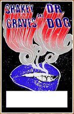 DR DOG   SHAKEY GRAVES Tour 2019 Ltd Ed New RARE Poster +FREE Rock Folk Poster!