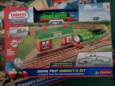 Thomas friends trackmaster SODOR POST Connect-a-set PERCY  NEW