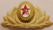 Soviet Russian Army High Rank Officer Visor Cap Hat Badge Cockade USSR Large
