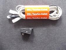 AVM Fritz!Box - Y-Kabel - DSL/Telefon-Kabel + TAE/RJ45 Adapter