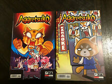 Aggretsuko 1 1st Print Lot Both A B Covers Variant Netflix Nm Gemini Mailer