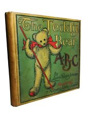 Laura Rinkle Johnson, Margaret Sanford, TEDDY BEAR ABC, 1907, 1st Ed, HC, RARE