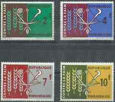 Timbres Rwanda 33/6 ** lot 26565