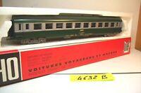 WAGONS TRAIN HO : VOYAGEURS UIC 2 eme CLASSE.B10 de JOUEF OCCAS (boite 4692 B)
