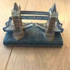 Statue souvenir - Painted TOWER BRIDGE - Pont Angleterre - London Collectables