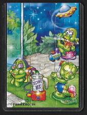 Jouet kinder puzzle 2D Super Spacys 611468 Allemagne 2001 + étui +BPZ