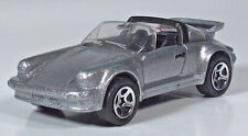 """Hot Wheels Porsche 911 SC Targa Convertible Silver Metallic 3"""" Scale Model"""