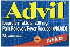Advil 200 mg Coated Tablets 24 Count