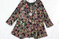 New Jersey🧡 *Eyecatcher Tunika, Shirt, Kleid A-Linie, bunt Gr.2 (54/56)