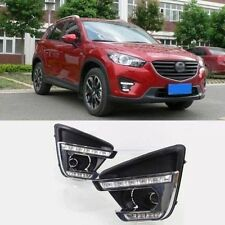 For mazda cx-5 2015-2016 2x White LED Daytime Day Fog Lights DRL Run lamp