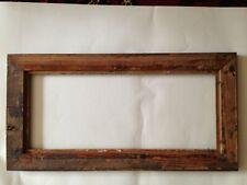 More details for edwardian rectangle gilt oak picture frame - 21.3/4