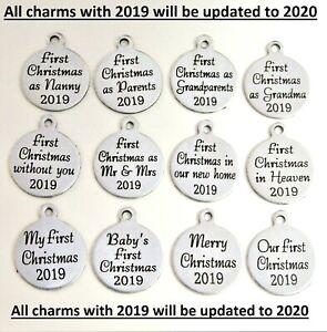 Christmas charms , Christmas message charms , Christmas quotes on charms first 1