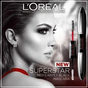 L'Oreal False Lash Superstar Red Carpet Black Duo Mascara Flashlight Black