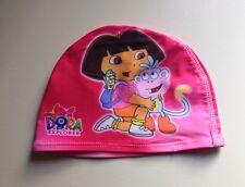 Dora the explorer Enfants Bonnet de bain filles swim cap uk vendeur hygiène nouvelle PAC