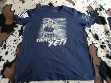 New listing Authentic Grunt Style. TACTICAL YETI, T-SHIRT, XL BLUE, 100% Cotton.