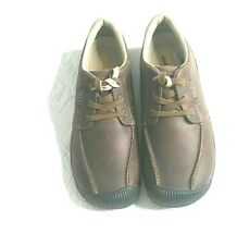 Keen Reisen Low Mens Casual Sneaker  Brown Leather Lace Up Shoe Size 10.5 NEW