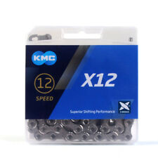 KMC X12 12 Speed MTB Mountain Road Bike Chain 126L Bicycle Chain Silver