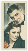 1934 Godfrey Phillips Film Stars Card - #8 Irene Dunne and Clive Brook