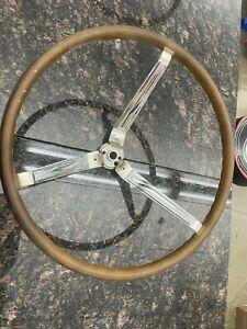 1965-66 GTO WOOD STEERING WHEEL