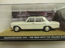 JAMES BOND CARS COLLECTION 112 Mercedes 220 (slightly cracked case)