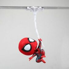 Cute Marvel Spider-Man Web-swinging Spiderman Bobble Head Figure Car Accessories