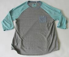Modern Amusement Men's 3/4 Sleeve Raglan Pocket Shirt XL