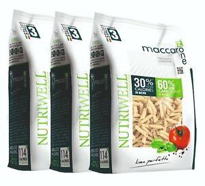 Pasta Proteína Maccarozone Dieta A Zona Bolígrafos 3 Paquetes Ciao Carb