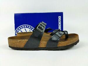 Birkenstock Womens Size EU 38 US 7-7.5 Graceful Licorice Strap Flat Sandals