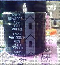 4pcs Japan ELNA LP5 4700UF 80V Audio Capacitor 30x35mm CE 85℃ #E116 YX