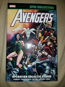 AVENGERS Epic Collection Vol 22 Operation Galactic Storm OOP Marvel TPB Iron Man