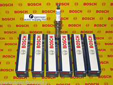Mercedes-Benz 6 pcs. Spark Plug Set - BOSCH - 0242135509 / YR7MPP33 - NEW OEM MB