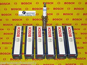 Mercedes-Benz 6 Piece Spark Plug Set - BOSCH - 0242135509, YR7MPP33, 7424 - OEM