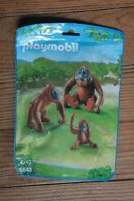 Playmobil Wild Life Famille de Orang-Outans avec bébé 6648 Animaux Zoo