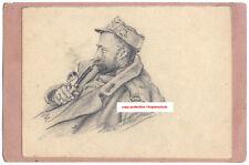 K.u.k. Postkarte,Portrait,Soldat,Zeichnung,Italien,kuk postcard,hand drawing,ww1