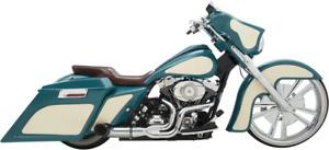 Killer Python Rayzer 2-1 Chrome Exhaust Muffler 07-16 Harley Touring FLHX FLHT