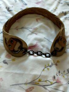 All Saints Leather Belt S/M