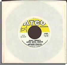 """Arthur Conley - Aunt Dora's Love Soul Shack + Is That You Love - 7"""" Single!"""
