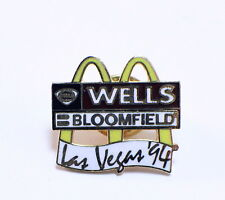 Mcdonalds Collector Hat Lapel Pin Wells Bloomfield Las Vegas