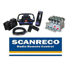 Scanreco RC400 Radio Remote Control Systems 4 FUNCTIONS for manual valve EFFER