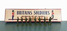 Britains Set 1898 British Infantry With Tommy Guns Toy Soldiers