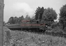 PHOTO  GWR LOCO  EX TAFF VALE 345 DEPARTING FROM LLANISHEN ON 11TH AUG 1955