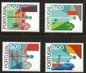 Portugal Scott #1294-97, Singles 1976 Complete Set FVF MNH