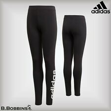 adidas Essentials Linear Leggings Junior Girls Age 13-14 Years Black