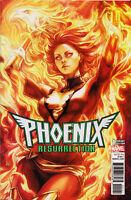 """PHOENIX: RESURRECTION #1 (STANLEY """"ARTGERM"""" LAU VARIANT COVER) ~ Marvel Comics"""