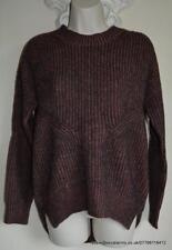 All Saints Velo/Quinta Jumper Terracotta/Black Size XS Wool/Alpaca  BNWT £148