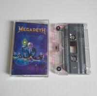 MEGADETH RUST IN PEACE CASSETTE TAPE CAPITOL UK 1990