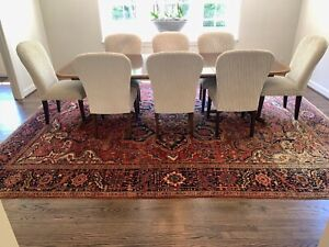 10 x 13 hand knotted oriental rug