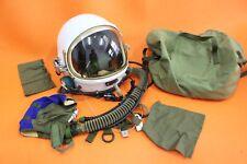FLIGHT HELMET SPACESUIT AIRTIGHT ASTRONAUT FIGHTER PILOT HELMET  1# XXL 08888