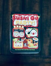 Sushi Go Party! (Damaged, Dented) Replacement Tin Box And Inserts ONLY Official