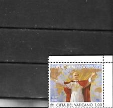 "Vatican 2017 Pope Paul VI 2nd Vatican Council  ""Populorum Progressio"" MNH Stamp"